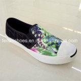 新しい到着の注入のズック靴の偶然のスポーツの靴(FFZL1031-06)