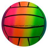 6インチの虹膨脹可能なPVC運動場のバレーボール