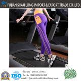 Signora Yoga Pants Made calda di vendita di nuovo modo del tessuto di nylon dello Spandex di stirata