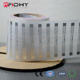 RFID Sticker Rodillo de la escritura de la etiqueta para la gestión de activos