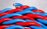 fio redondo flexível Twisted isolado PVC do gêmeo de 300/300V Rvs