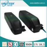 LiFePO4 Fahrrad-Lithium-Batterie zugelassenes Ce/RoHS der Batterie-36V 15ah E