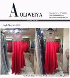 Vestito da sera rosso, abito del partito, vestiti da cerimonia nuziale
