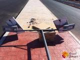 Свет курса стоянкы автомобилей улицы датчика движения франтовской напольный СИД солнечный