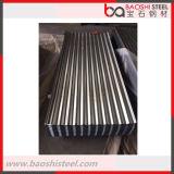 El calor de la buena calidad resiste el material para techos acanalado del metal de hoja