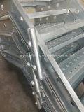 Лестница/Stairways гальванизированные лесами с усовиком для конструкции