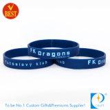 Wristband su ordinazione del silicone della Cina come regalo promozionale