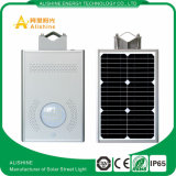 12W는 IP65를 통합했다 1개의 태양 LED 가로등에서 모두를 방수 처리한다