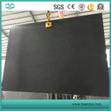 Хонингованная и отполированная черная мраморный плитка Nero Marquina