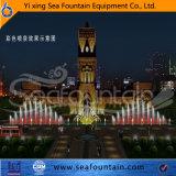 La fontaine décorative de musique de stationnement pour apprécient le constructeur