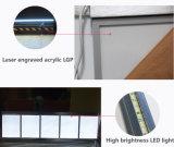 チェーン・ストアメニューボードのための急なフレームLEDのライトボックスの細いライトボックス