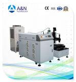 Máquina de soldadura de fibra óptica do laser de A&N YAG 100W com a tabela para o metal