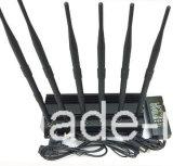 6本のアンテナLojackのためのデスクトップの携帯電話の妨害機