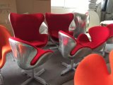 Moderner Ei-Stuhl-/Swan-Stuhl mit gute Qualitäts-PU für Hauptmöbel-und Büro-Stuhl