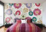 カスタム壁の壁紙の壁の寝室の居間のソファーの壁紙、孔雀の壁画