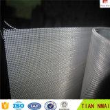 Engranzamento revestido galvanizada ou do PVC do aço inoxidável de fio