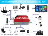 Cadre intelligent canadien E8 du cadre androïde IPTV TV de TV plus le WiFi à deux bandes de cadre d'Amlogic S912 TV de faisceau d'Octa de mise à jour du RAM 3GB Ota