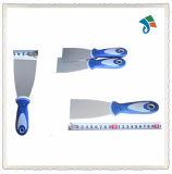 Raspador da faca de Putty da lâmina do aço inoxidável do punho de TPR