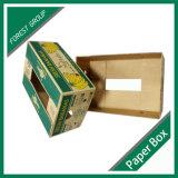 rectángulo de empaquetado del cartón del plátano de la cereza de la fruta 5ply