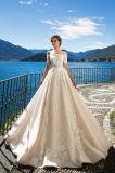 Hochzeits-Kleider der Kristina-Prinzessin-Multilayer mit dem Fishbone