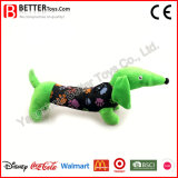 Perro de juguetes suave relleno colorido del animal del campo