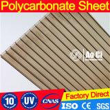 Folha de policarbonato de parede gêmea barata
