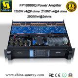Fp10000q 4チャネルの専門の可聴周波電力増幅器、PA Subwooferシステム、専門の可聴周波電力増幅器