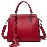 Bolsa elegante da forma a mais nova do saco das senhoras do couro da bolsa do desenhador dos fornecedores de China com Tassel Emg5117