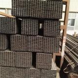 Ningún aislante de tubo rectangular de acero del negro de las rebabas con petróleo