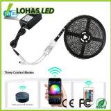 Veränderbares WiFi intelligentes LED Streifen-Licht 5050 SMD für Dekoration
