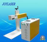 Гравировальный станок лазера волокна охлаждения на воздухе портативный для пластмассы