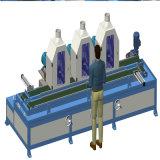 3 Machine van het Metaal van hoofden Hairline Oppoetsende voor het Comité van het Slot
