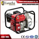 pompe à eau portative d'engine d'essence de début manuel de 3inch 6.5HP