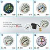 002 manomètres médicaux d'indicateur de pression d'acier inoxydable/mètres de mesures