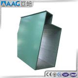Industrielles Aluminiumprofil des strangpresßling-6060 für Aufbau-Technik