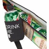O vinho relativo à promoção durável /Beer/Bottle do neopreno da impressão do teste padrão enlata o refrigerador/seis pode refrigerador isolado da câmara de ar/fácil carreg isolou 6 pode saco do refrigerador da câmara de ar/luva