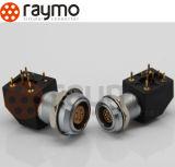 공장 고품질 자동 동등물 5pin Cicular 푸시-풀 금속 연결관