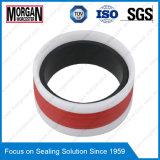 Type anneau de joint de Gd1000k de piston de cylindre hydraulique de PA/PTFE/POM/NBR