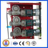 Motores impulsores para el elevador del edificio de la construcción