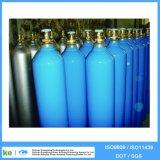 40L 고압 이음새가 없는 강철 산소 가스 탱크 ISO9809