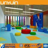 Здоровая и цветастая плитка настила PVC, строительный материал детсада