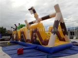 공장 싼 가격 아이를 위한 팽창식 해적 장애물 코스 운동장