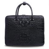 Mann-Geschäfts-Laptop-Aktenkoffer der echten lederner Beutel-Krokodil-Männer