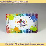 Cartão de impressão CYMK Color Cr80 com magnético para publicidade