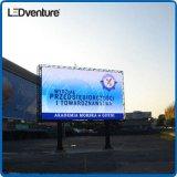 Muestra a todo color de la publicidad al aire libre LED de la cabina impermeable