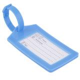 Etiquetas suaves/escritura de la etiqueta del recorrido del equipaje del silicón