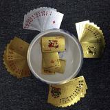 [سلفر فويل] يورو محراك بلاستيكيّة يلعب [كردس/بفك] بطاقات