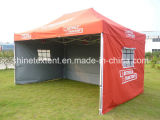 [10إكس15فت] يتاجر عرض يفرقع خيمة, [غزبو] ترويجيّ, حادث فوق خيمة