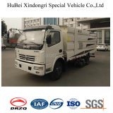caminhão do líquido de limpeza da sução da poeira da estrada do vácuo de 2ton Dongfeng