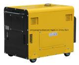 комплект молчком звукоизоляционного генератора энергии 5kw тепловозный производя